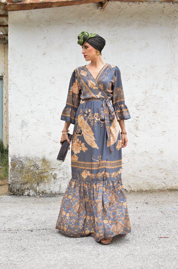 ethnic turban style