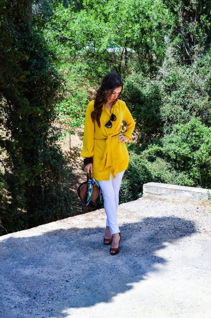 yellow shirtdress iclothing
