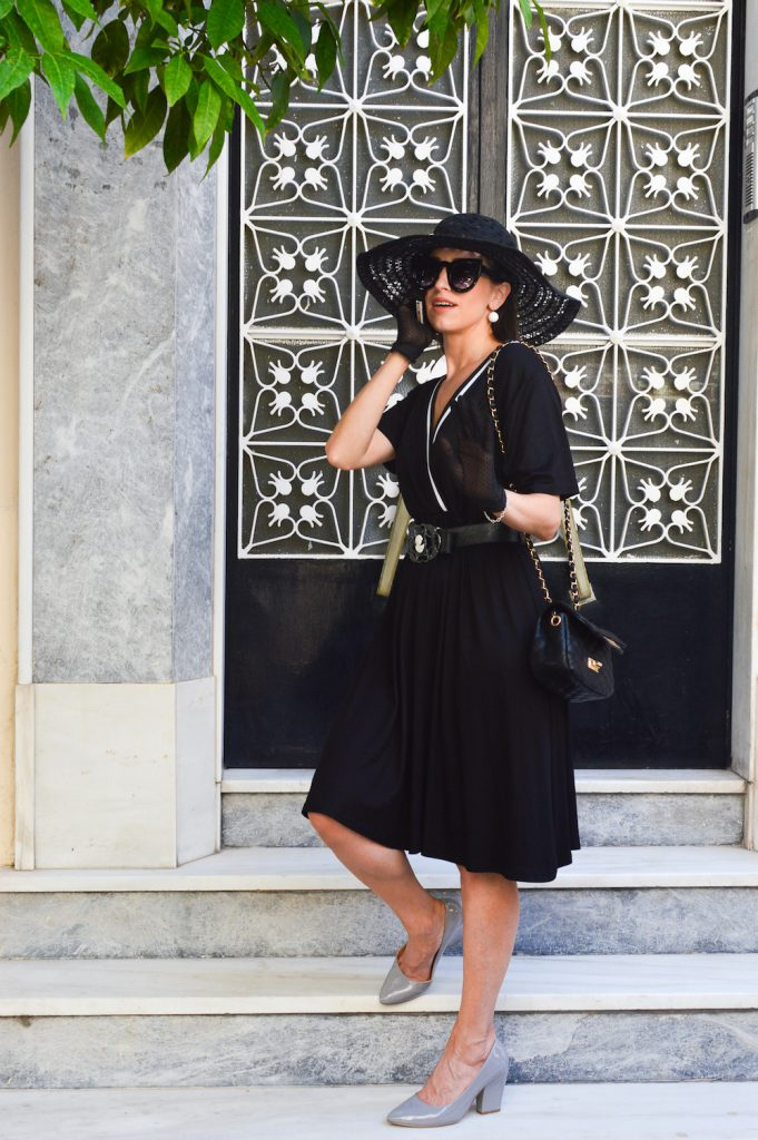 how to be a a stylish in black