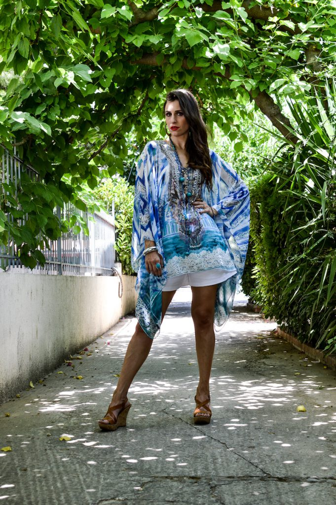how to style your caftan for summer