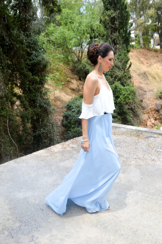 maxi dress for summer wedding guests