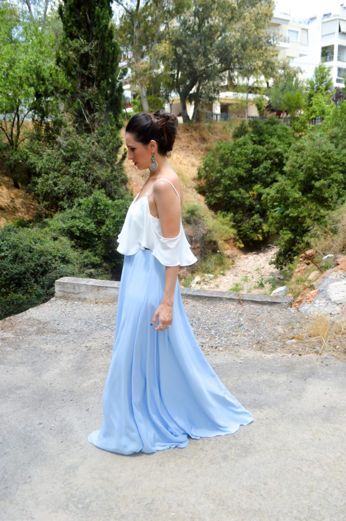 what to wear for a wedding in Grece