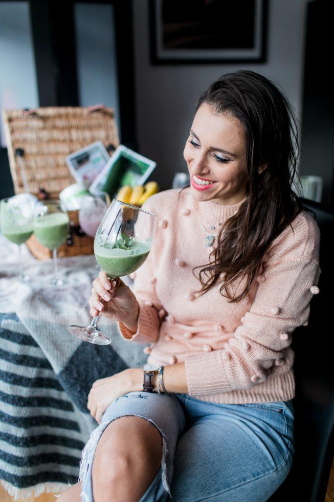 Kassi Herbalife green smoothie