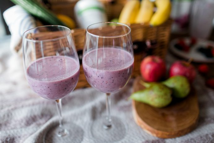 smoothie berries