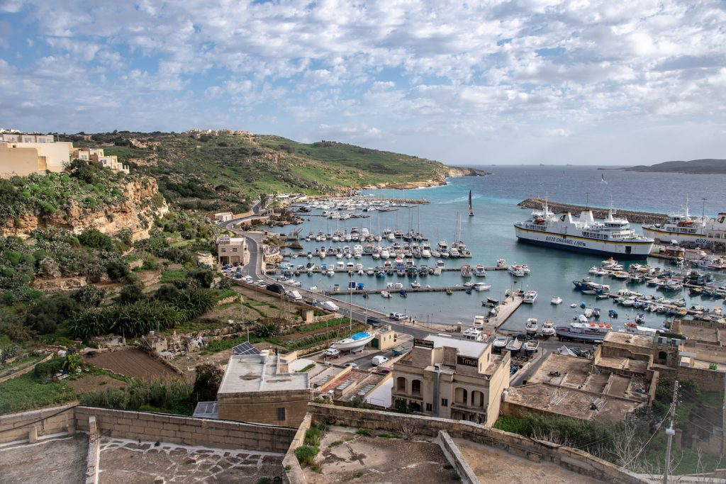 gozo view from above
