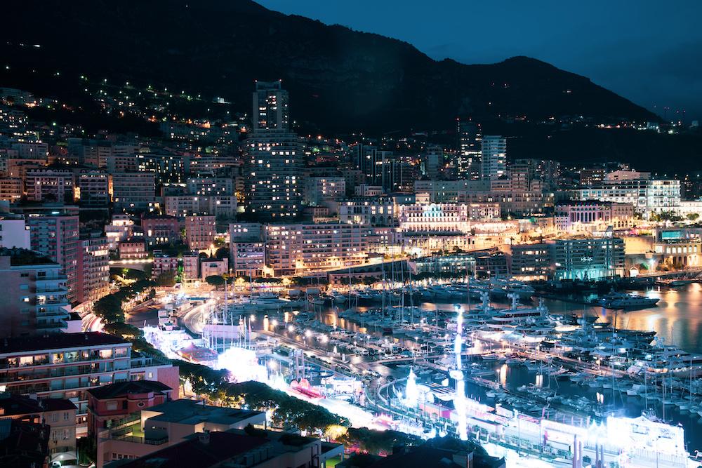 monte carlo marina night