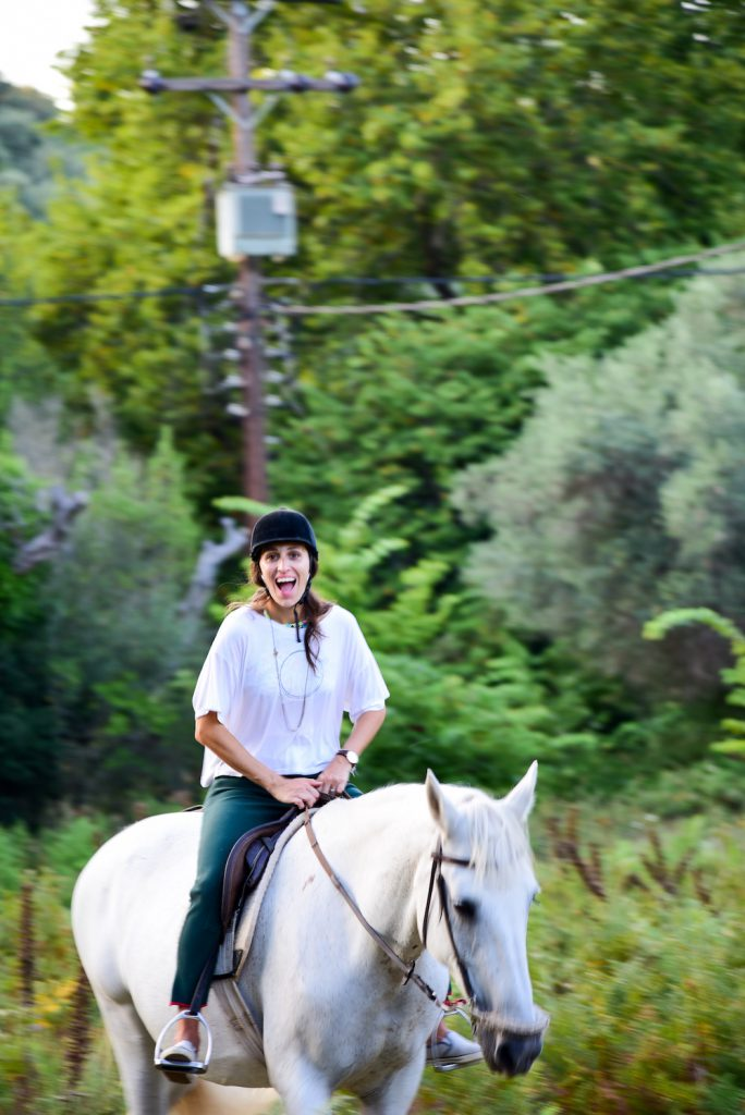 just kassi horse back riding