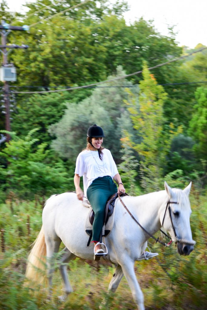 just kassi horse riding