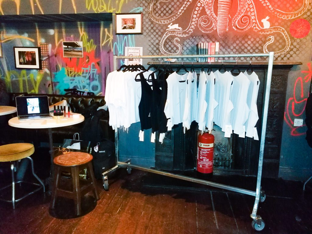JKC Just kassi T-shirts pop up shop